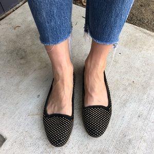 Loeffler Randall studded slippers